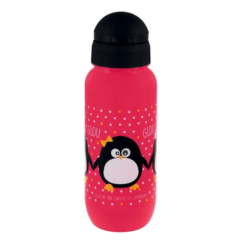 Drinkfles - pinguin - Derriere la porte