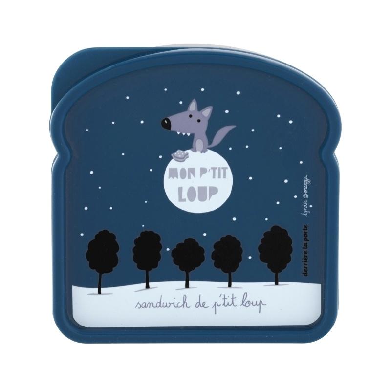 Lunchbox - mon p'tit loup - wolf - Derriere la porte