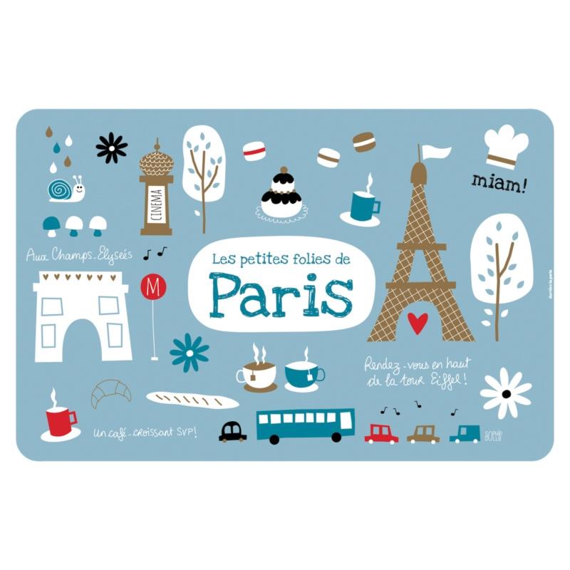 Placemat - folies de Paris - Derriere la porte