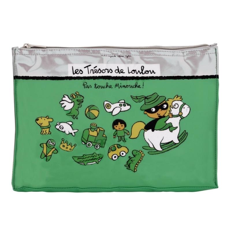 Tasje voor kinderspulletjes - trésors de loulou - Derriere la porte