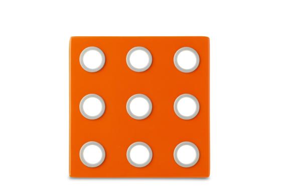 Onderzetter domino oranje - Mepal