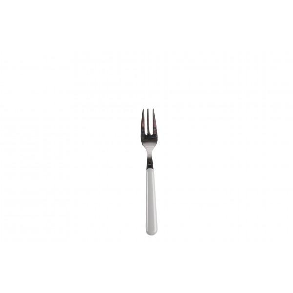 Gebaksvork / dessertvork lichtgrijs - brio - Eme Inox Italy