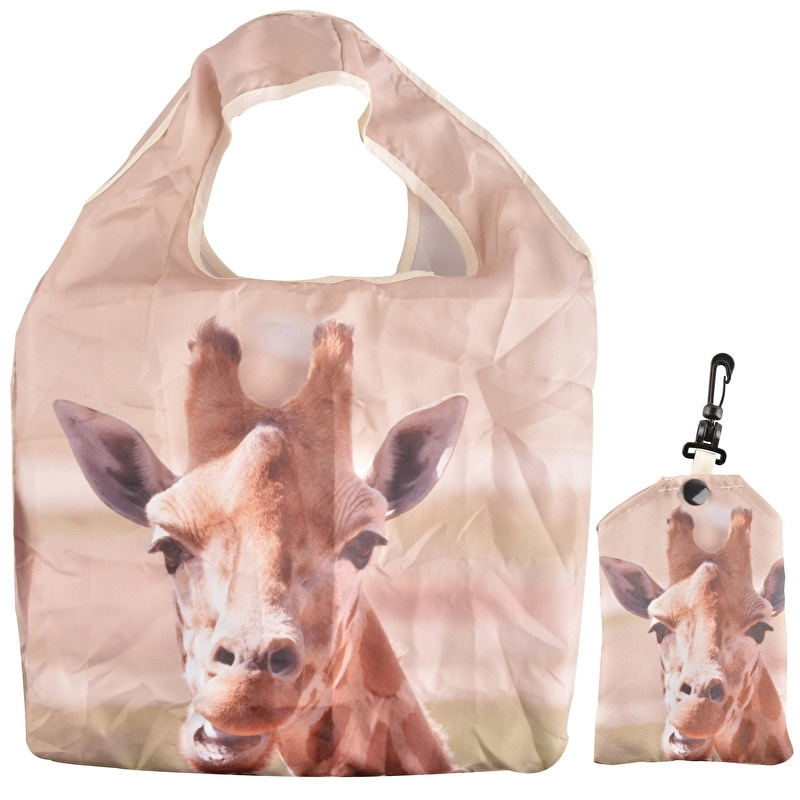 Boodschappentas (vouwtas) - giraffe - Esschert Design