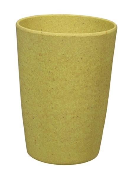 Zip cup - beker geel - Zuperzozial