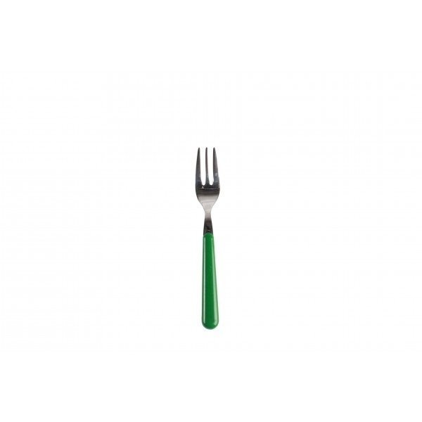 Gebaksvork / dessertvork groen - brio - Eme Inox Italy