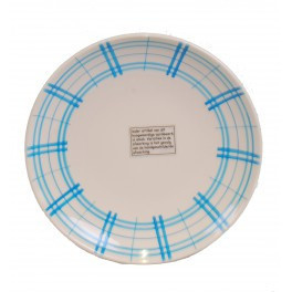 bord - ruit blauw - Kitchen Trend Products