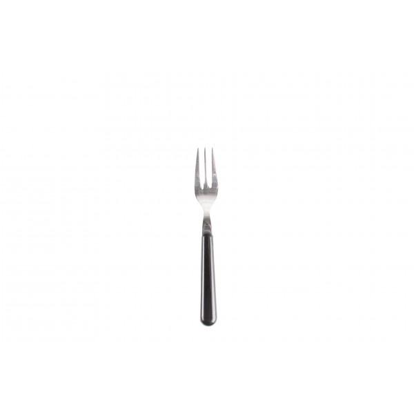 Gebaksvork / dessertvork zwart - brio - Eme Inox Italy