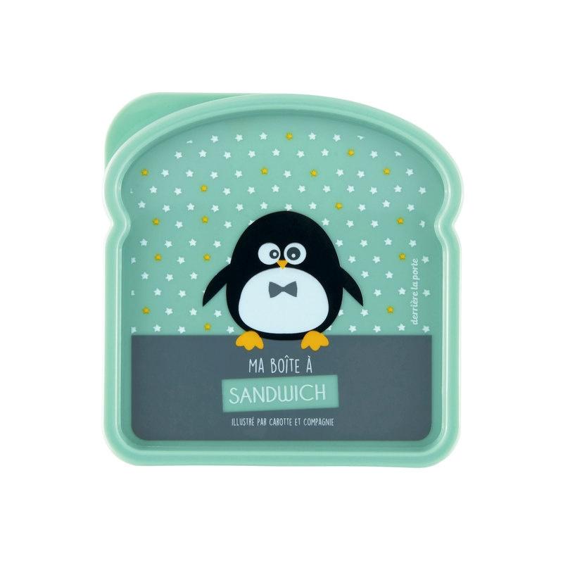 Lunchbox - pinguin - Derriere la porte