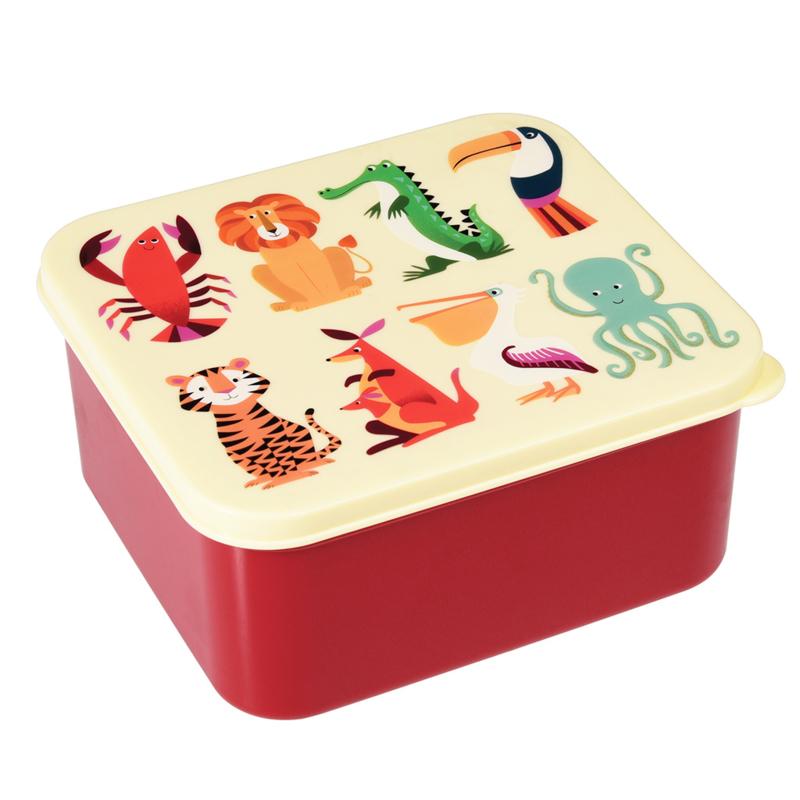 Lunchbox - Dieren - Rex London