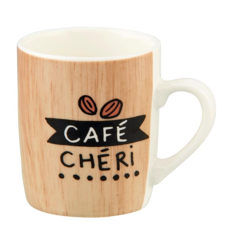 Beker - café chéri - Derriere la porte