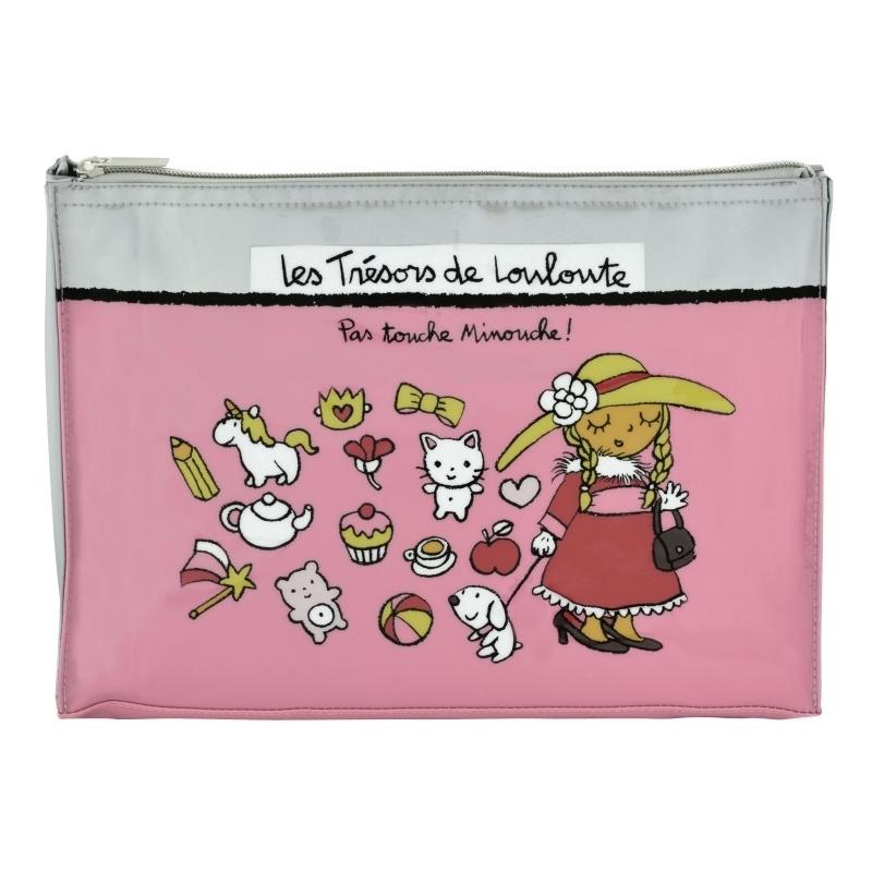 Tasje voor kinderspulletjes - trésors de louloute - Derriere la porte