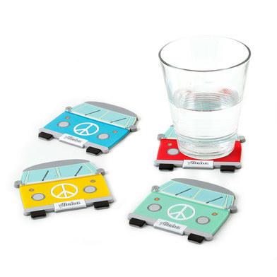 Onderzetters voor glazen - (vw) bus- Balvi