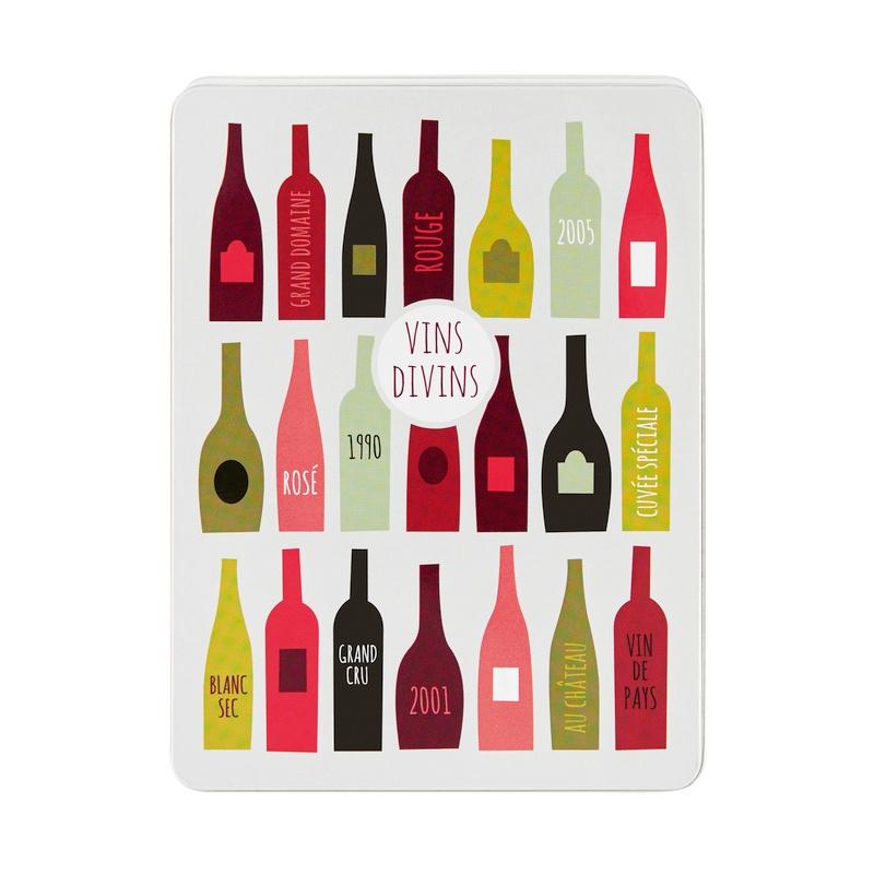 Wijnset in blik - vins divins - Derrière la porte