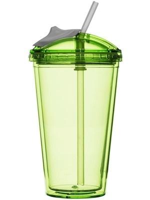 Smoothie mug - groen - Sagaform