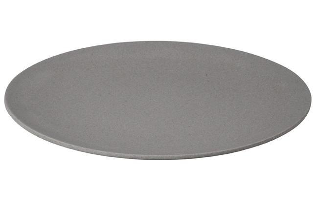 Large bite plate - bord grijs - Zuperzozial