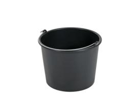 Emmer zwart 10 liter - 703560