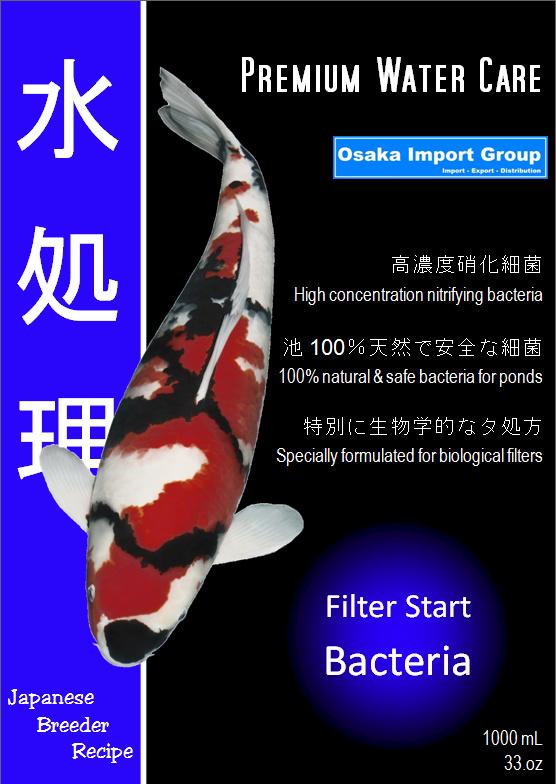 Premium watercare Filterstart bacteriën 1000ml GEL