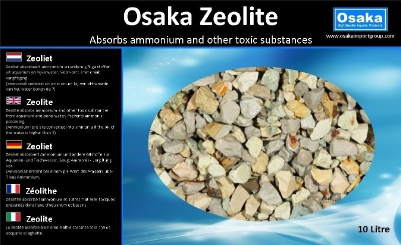 Osaka Zeolite 5 liter emmer (16-40mm)