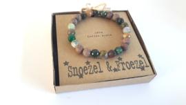 Indian Agate Aromatherapy Bracelet