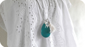 Turquoise Drop Peace