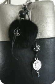 Peace and Fur Black