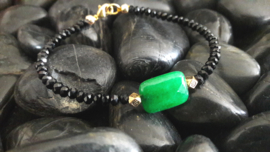 Black and Malaysian Jade