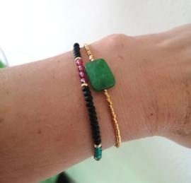 Malaysian Jade and Gold