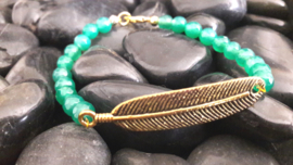 Malaysian Jade and Feather