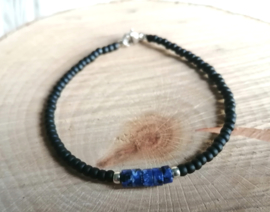 Black and Sodalite