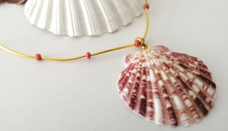 Shell Pink and Gold