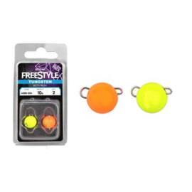 Spro Freestyle  Tungsten Bottom Jig Glow Packs