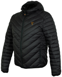 Fox Collection Black/Orange Quilted Jacket