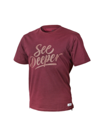 Fortis T-Shirt See Deeper - Maroon
