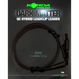 Korda Dark Matter Leader QC Hybrid Clip