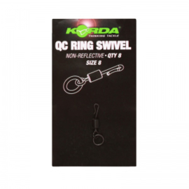 Korda Kwik Change Ring Swivel Size 8