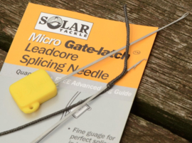 Solar Micro Gate-Latch Splicing Needle