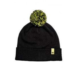 Ridge Monkey Apearel Dropback Bobble Hat Black