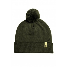 Ridge Monkey Apearel Dropback Bobble Hat Green