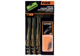 Fox Leadcore Leadclip Rigs