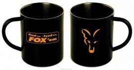 Fox Stainless Black Mug XL 400ml