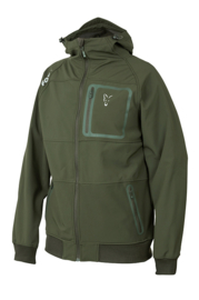 Fox Collection Green/Silver Shell Hoody