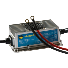 Rebelcell 20A Waterdichte Acculader voor Angling-Line Li-ion 12V50