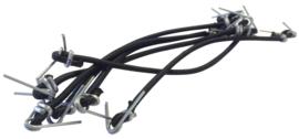 Trakker Elastic Repair Kit (6 pieces)