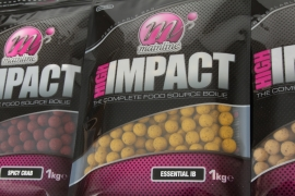 Mainline High Impact Boilies Aromatic Fish