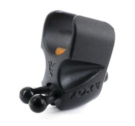 Fox Black Label Adjustable Rod Clips x 2