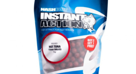Nash Instant Action Hot Tuna Boilies 1 kg zakken