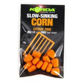 Korda Slow-Sinking Corn Citrus Zing
