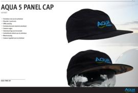 Aqua 5 Panel Cap