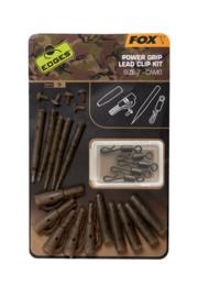 Fox Edges Camo Power Grip Lead Clip Kit Sz 7