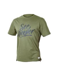 Fortis T-Shirt See Deeper - Green